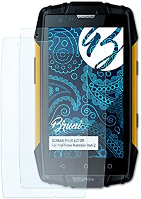Bruni Película Protectora para myPhone Hammer Iron 2 Protector ...