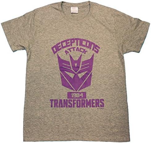 트랜스 포 머 【 국내 공식 감수 】 T 셔츠 세 쁘띠 컴 엠 블 렘 신 버전 / Transformers [Domestic Official Supervisio
