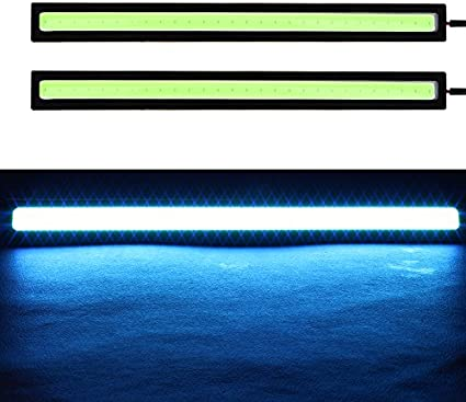Waterproof External Parking Fog Light Bar Turn Signal Lamps Car Accessories iTimo 2Pcs 17CM LED COB Daytime Running Lights