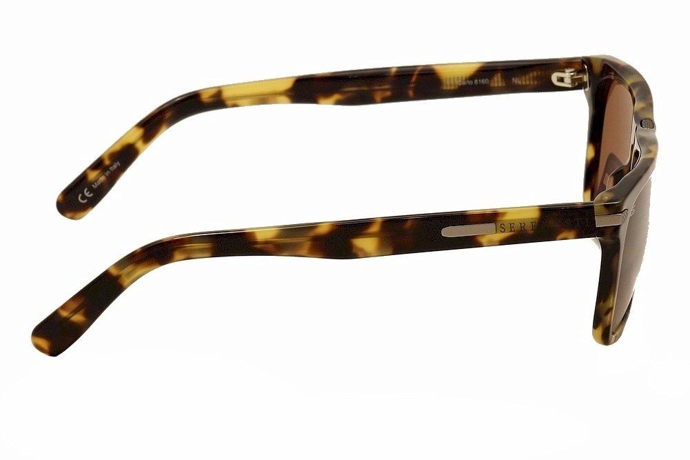 Mossy Tortoise Frame Polarized Drivers Lens Serengeti 8160 Carlo Sunglass