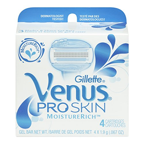 Gillette Venus Proskin Cartridge 4 Count