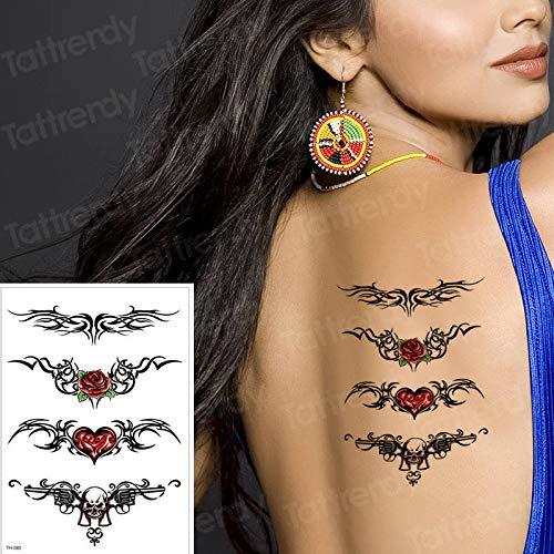 Impermeable Etiqueta Engomada del Tatuaje Temporal Sexy Cintura ...