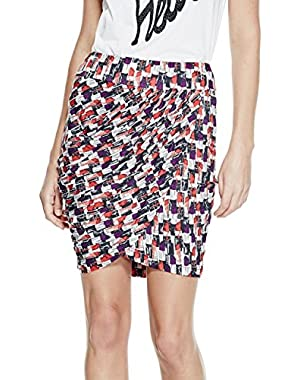GUESS Oki Draped Skirt
