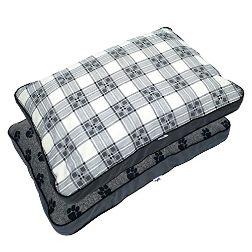 MyPillow Pet Beds, Large, Gray by MyPillow Inc