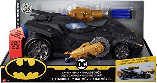 DC Comics Batman Knight Missions Air Power Cannon Attack Batmobile Vehicle JungleDealsBlog.com