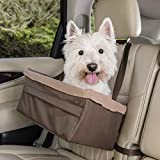 Image of PetSafe Happy Ride Booster Seat - Dog Booster Seat for Cars, Trucks and SUVs - Easy to Adjust Strap - Durable Fleece Liner is Machine Washable and Easy to Clean - Extra Large, Brown