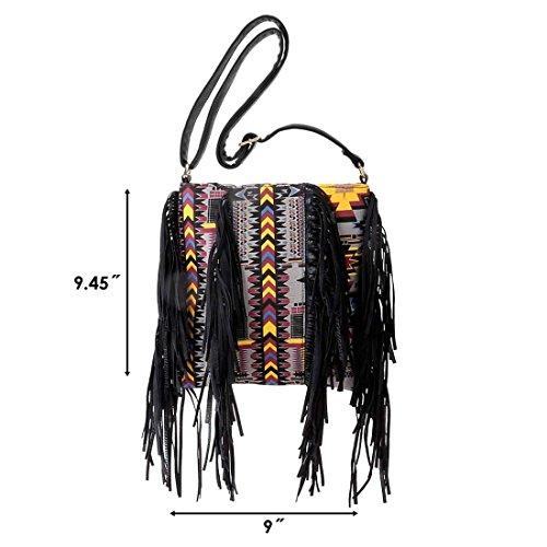 Womens Colorful Pattern Fashion Handbag product image
