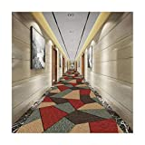 Mbd Corridor Full Carpet European Style Foyer Aisle Staircase Cutting mat (Color : B, Size : 100100CM)