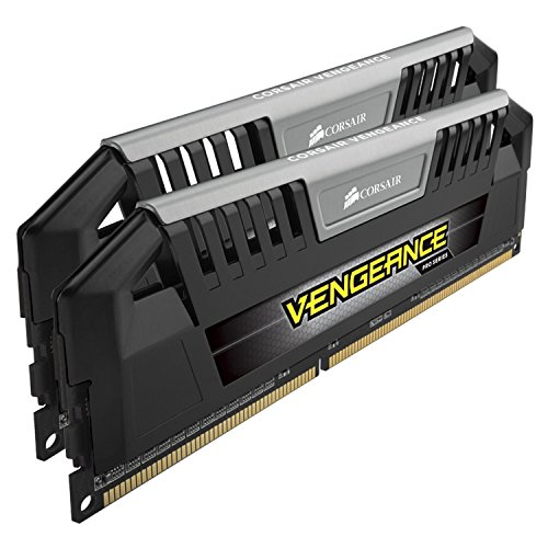 Corsair CMY16GX3M2A1600C9 Vengeance Pro Series 16GB (2x8GB) DDR3 1600 MHZ (PC3 12800) Desktop Memory 1.5V (Best Budget Mini Itx Motherboard 2019)