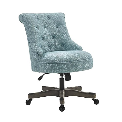 Office Chair in Light Blue (Office Chair Pine)