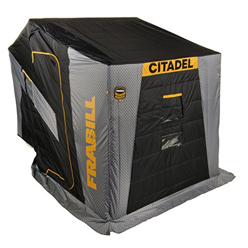 Frabill Ice Fishing Shelter - Frabill Citadel 3405 Flip-Over Side Door with Bench Seat