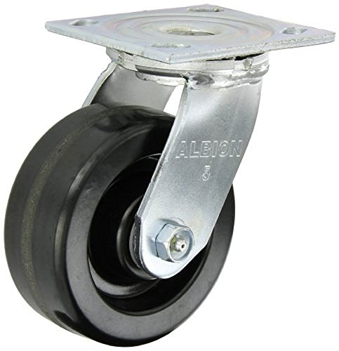 Albion 16 Series Medium Heavy Duty Zinc Swivel Plate Caster,
