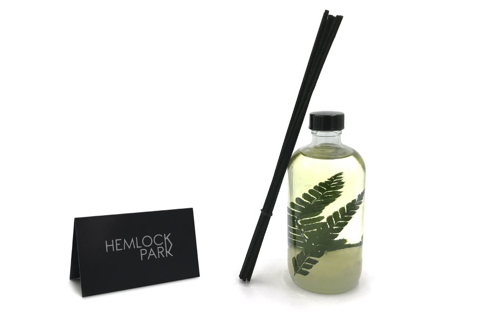 Hemlock Park Reed Diffuser | Natural Essential Oil Aromatherapy (Tea Tree) by Hemlock Park (Image #5)