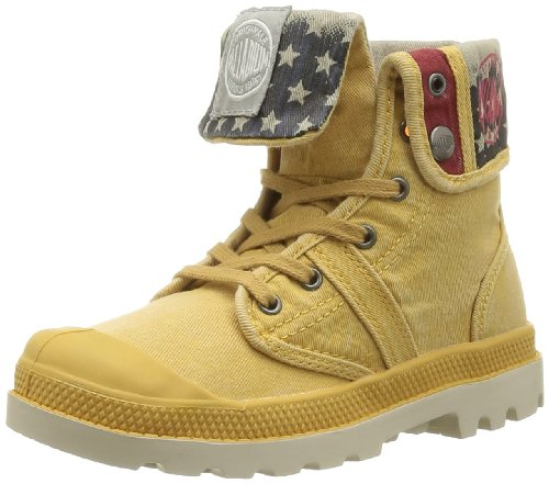 Jaune Baggy Boots 632 Mustard enfant Palladium Flag mixte qTAFP1AUw