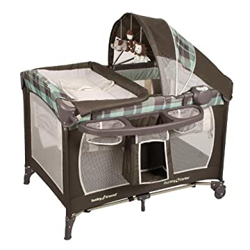 Baby Trend Serene Nursery Center Playard, Jungle Safari