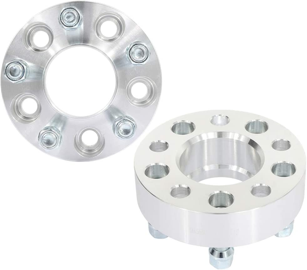OCPTY 20mm Wheel Spacers 5 Lug 5x114.3mm to 5x114.3mm 14x1.5 Studs fit for Ford Mustang