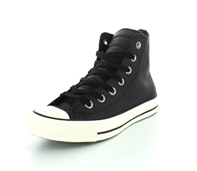 1a4cef3c77021a Converse Unisex Chuck Taylor All Star Motorcycle Hi Leather Sneaker Black  Black 5 B(M) US Women   3 D(M) US Men  Buy Online at Low Prices in India -  Amazon. ...