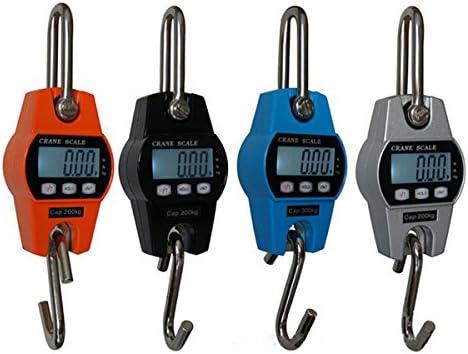 4~300KG Digital Hanging Scale LED Industrial Crane Scale Random Color