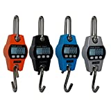 Eyourlife 300kg/600lb Mini Industrial Crane Digital Hanging Scale Crane Scale Hook Scale