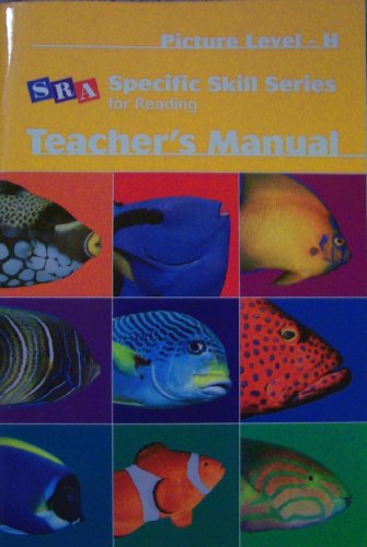 Teacher's Manual, Picture Level H (Specific Skill Series for Reading)  (Merrill Reading Skilltext)