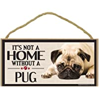 Imagine This Wood Sign for Pug Dog Breeds