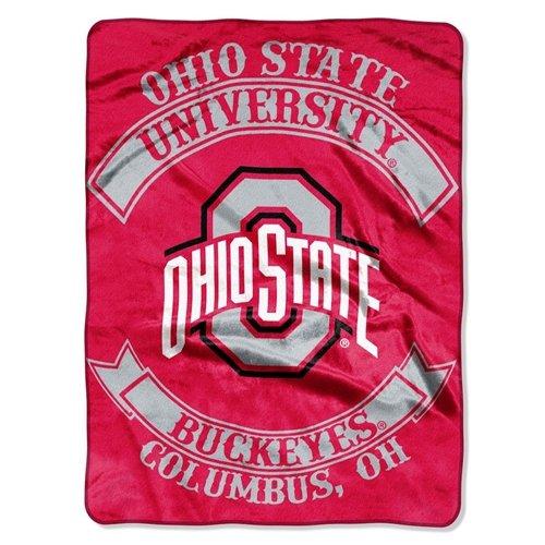 60' Royal Plush Blanket - Ohio State Buckeyes 60''x80'' Royal Plush Raschel Throw Blanket - Rebel Design