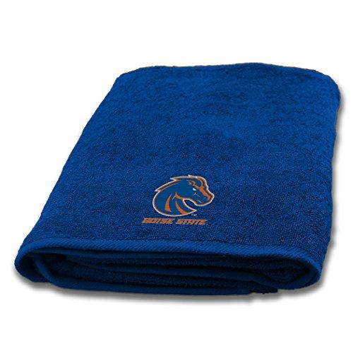 Boise Rug - Boise State OFFICIAL Collegiate, 25 x 50 Appliqu Bath Towel - by The Northwest Company