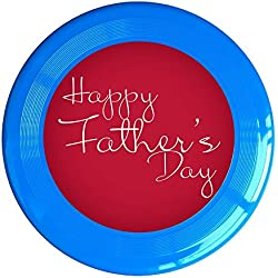 VOLTE Happy Father's Day RoyalBlue Flying-discs 150 Grams Outdoor Activities Frisbee Star Concert Dog Pet Toys