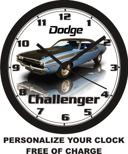 1970 DODGE CHALLENGER WALL CLOCK-FREE US SHIP!