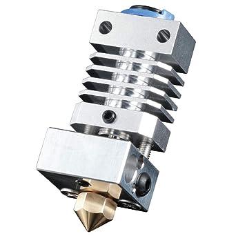 All Metal CR10 Hotend - Boquilla de latón y titanio para impresora ...