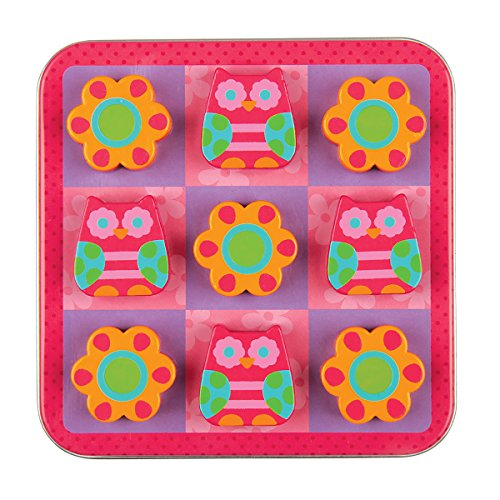 Stephen Joseph Magnetic Tic Tac Toe Set, Owl