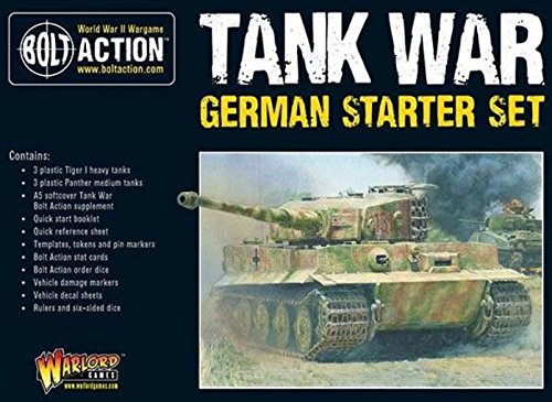 Warlord Games, Tank War German starter set, Bolt Action Wargaming