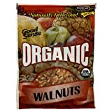 Good Sense Organic Walnuts, 6-Ounce Bags (Pack of 4)