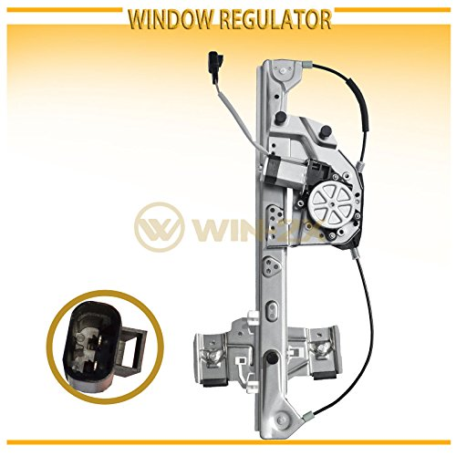 (WIN-2X New 1pc Rear Passenger (Right) Side Power Window Regulator & Motor Assembly Fit 00-05 Cadillac DeVille )