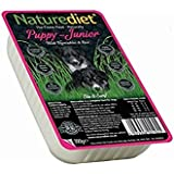 Naturediet Puppy/Junior Chicken with Vegetables and Rice Dog Food Tray, 18 x 390 g