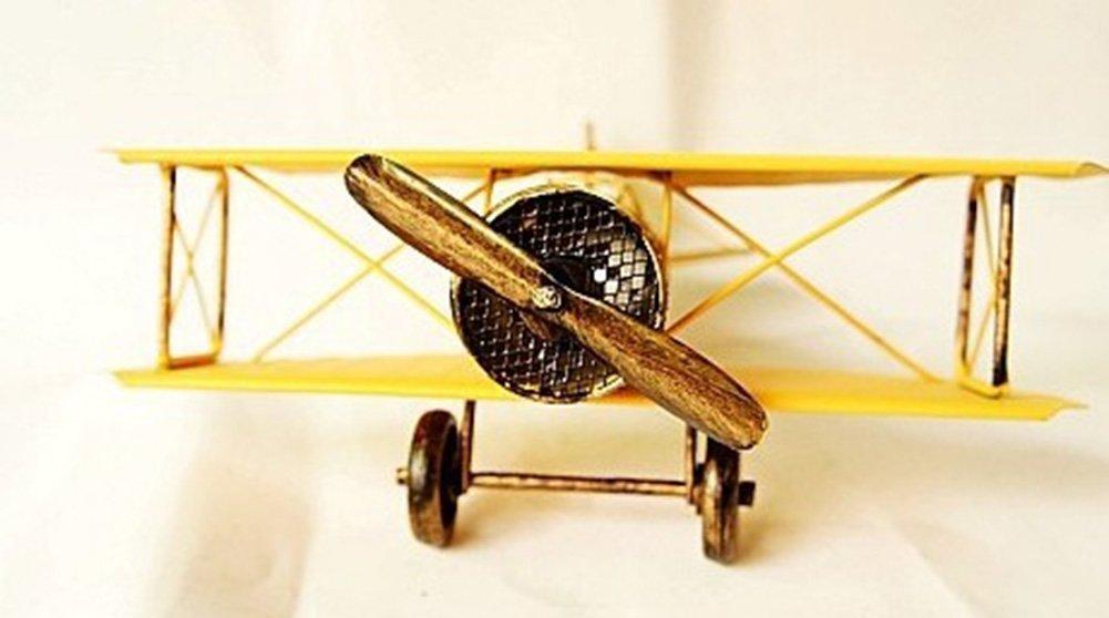 Genda 2Archer Vintage Airplane Model Wrought Iron Aircraft Handicraft Souvenir 819 by Genda 2Archer