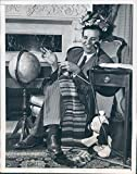 1946 Impersonator Arthur Blake Trade Mark Comedian Eleanor Roosevelt Press Photo