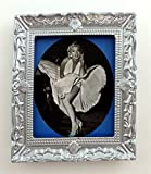 Melody Jane Dolls House Marilyn Monroe Picture Painting Silver Frame Miniature Accessory