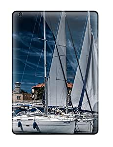 Lori Hammer's Shop Cheap 4674753K44414727 Snap-on Sailing Boat Case Cover Skin Compatible With Ipad Air