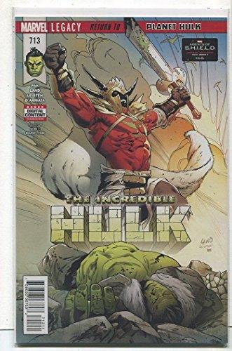 The Incredible Hulk #713 NM Legacy Return To Planet Hulk Marvel Comics CBX35