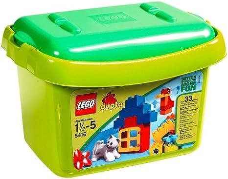 LEGO Duplo Brick Box 34pieza(s) - Juegos de construcción (Multi): Amazon.es: Juguetes y juegos