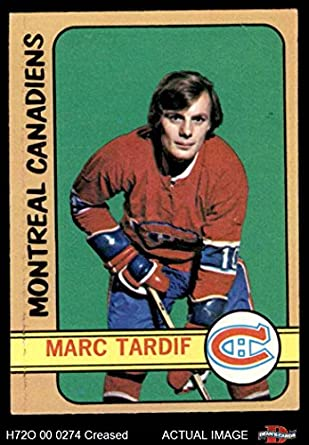 Amazon.com  1972 O-Pee-Chee   11 Marc Tardif Canadiens (Hockey Card) Dean s  Cards 3 - VG Canadiens  Collectibles   Fine Art 52c40c4db
