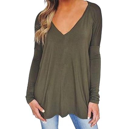 catch best website latest collection Amazon.com: Plus Size Tops,Women Ladies Deep V-Neck Loose ...