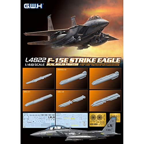 Great Wall Hobby 1/48 F-15E Strike Eagle Dual Roles Fighter L4822