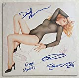 Ric Ocasek Autographed Signed The Cars Band Candy-o Album Vinyl By All 4 PSA/DNA