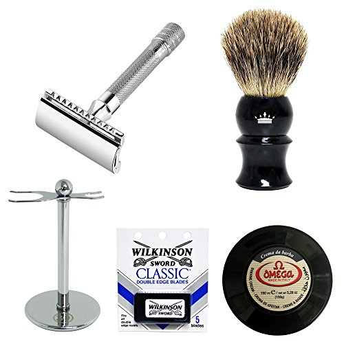 merkur 33c safety razor 5 piece wet shave set classic shaving kit royalshave my beard shop. Black Bedroom Furniture Sets. Home Design Ideas
