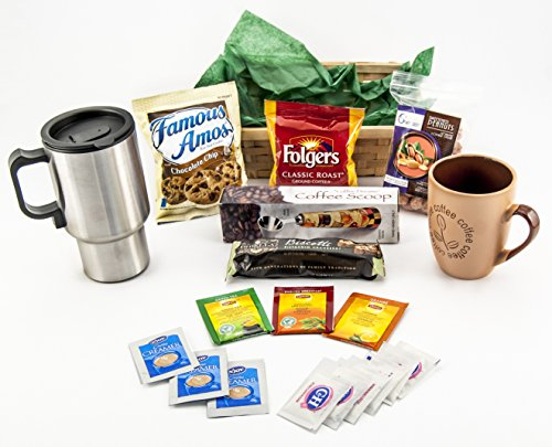 Coffe Time Gift Basket #2