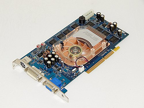 ASUS N6800/TD/512M/A NVIDIA GeForce 6800 512MB 128-bit DDR2 4X/8X AGP Video Card w/DVI, D-Sub, S-Video