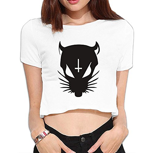 Die-Antwoord-Rat-Girl-Crop-Top-Tshirts-Leisure-Colors