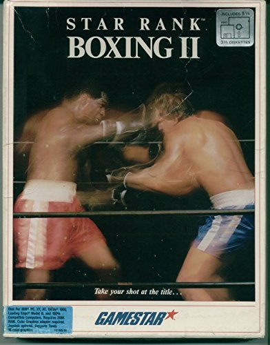 Price comparison product image Star Rank Boxing II Vintage PC Game